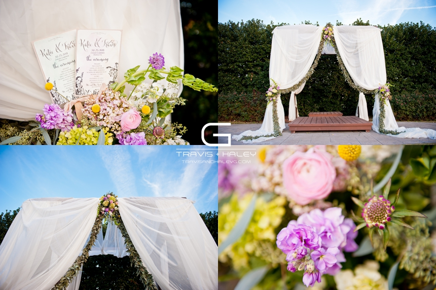 whimsical outdoor wedding details