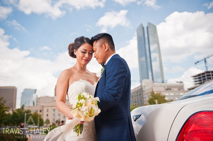 Downtown Oklahoma Wedding Photographers Travis And Haley G