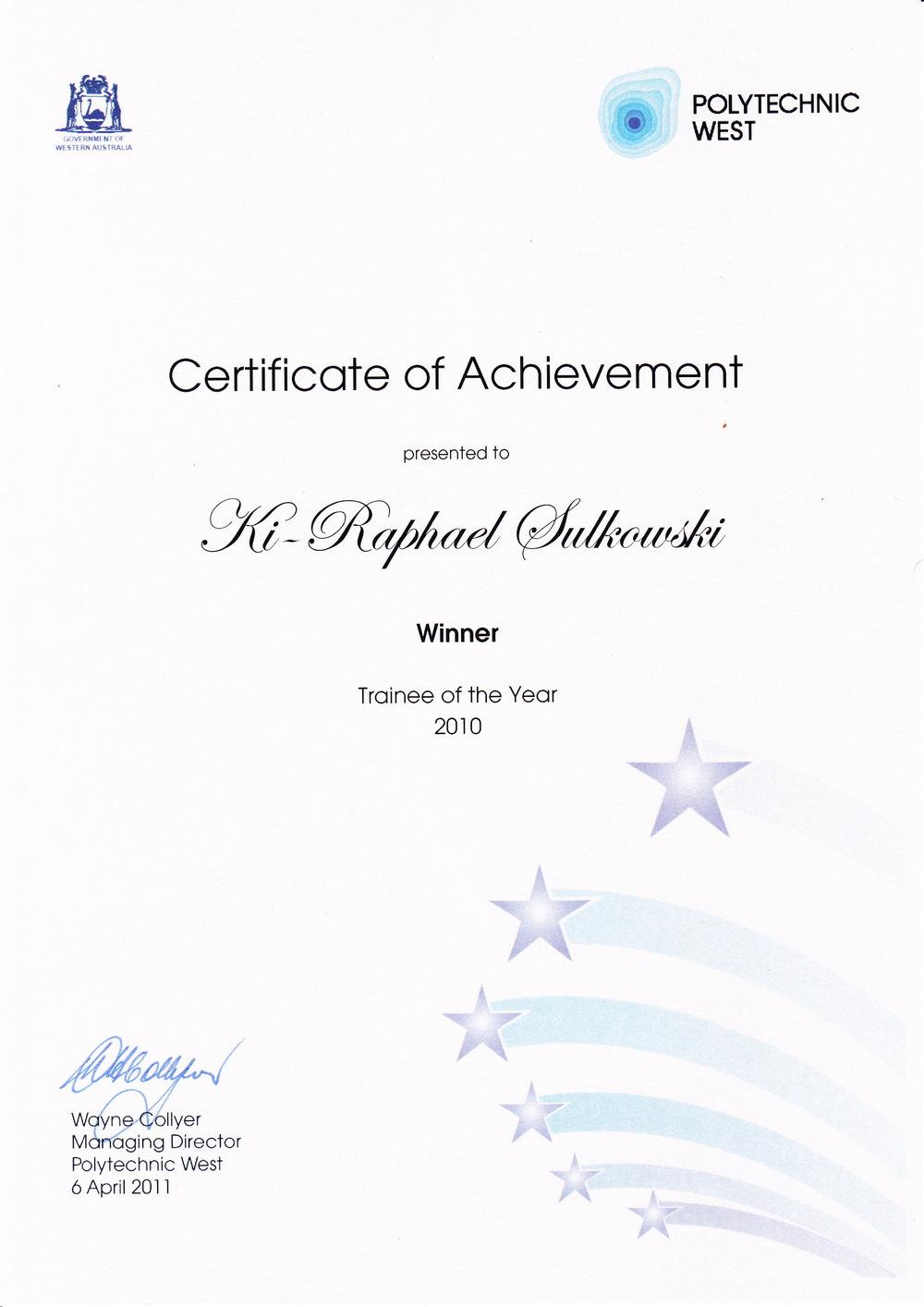 k1 sail owner awards