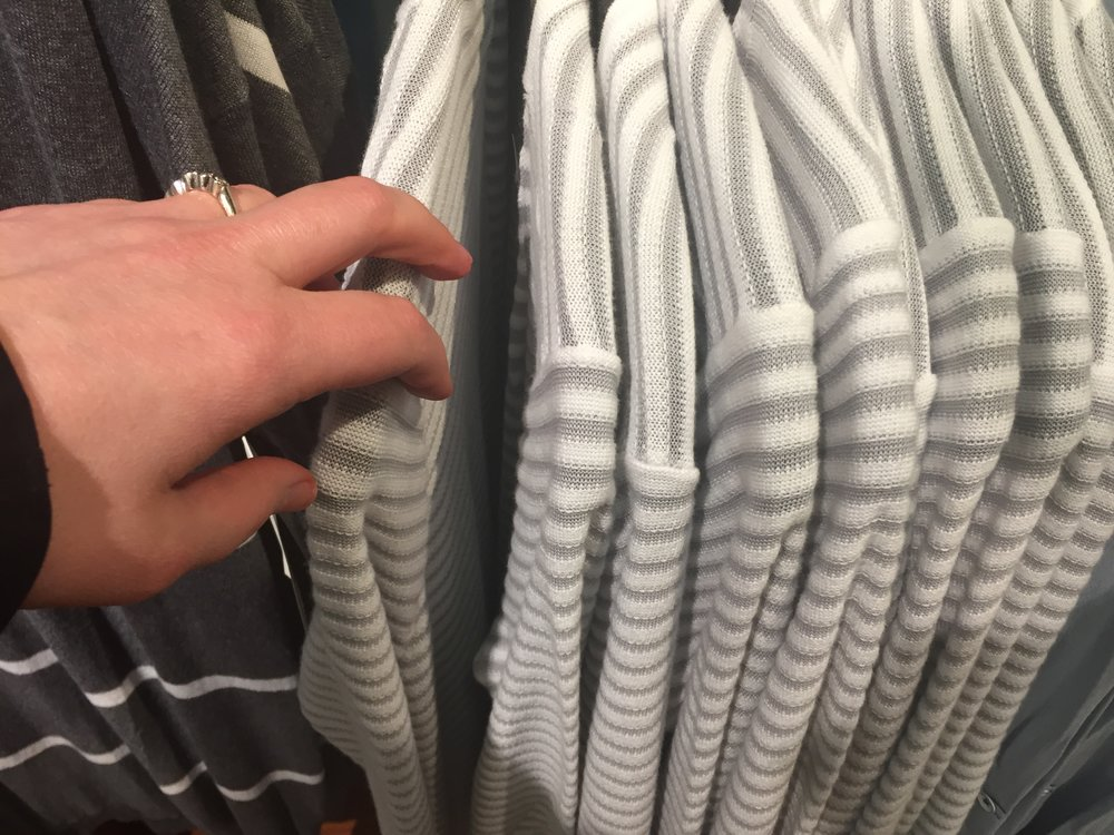 Sifting through countless racks of clothes can be...tempting.