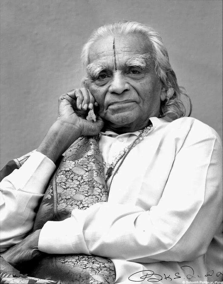 Yogacharya BKS Iyengar