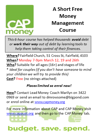 0893dca1c36 CAP Money Management Course — Fairfield Christian Family