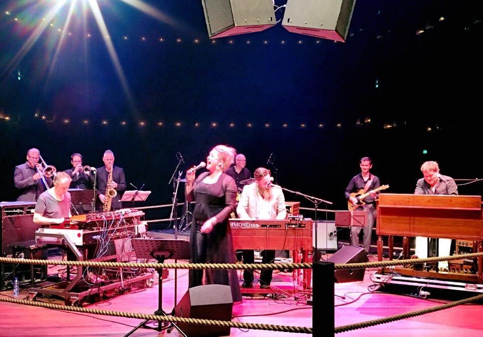 Organ battle with Rob Mostert, Sven Hammond