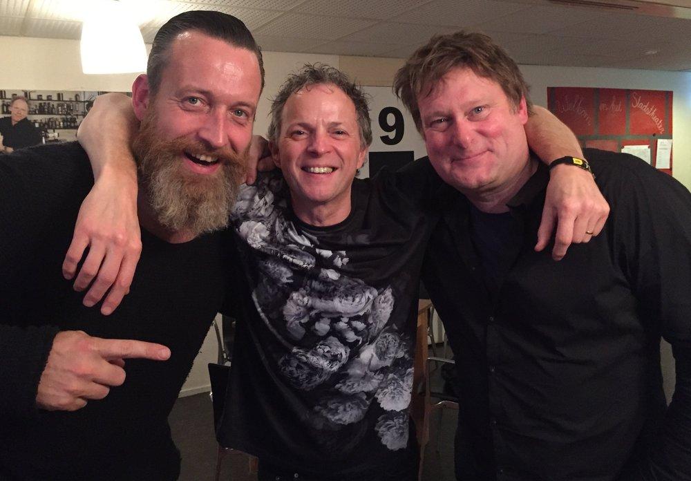 Sven Hammond, Rob Mostert: 'bad' collegues 2015
