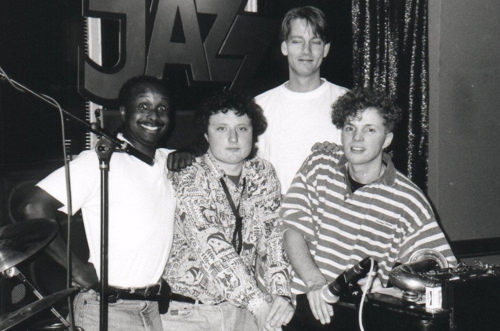 Eddy C, Frank Vaganee, Hans van Oosterhout 1990