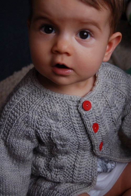 Silverfox cardigan knitting pattern by Lisa Chemery - Frogginette Knitting Patterns