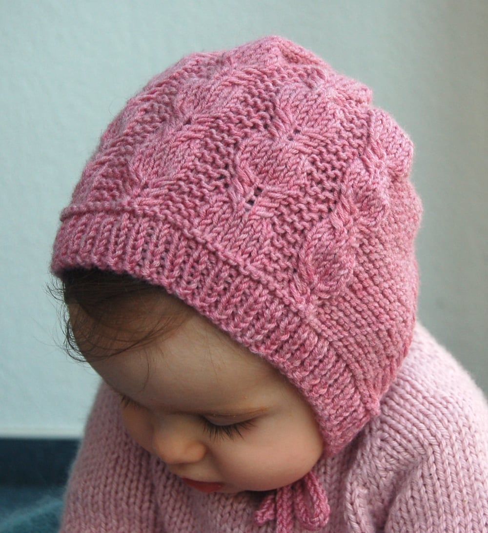 Silverfox Bonnet knitting pattern by Lisa Chemery - Frogginette Knitting Patterns