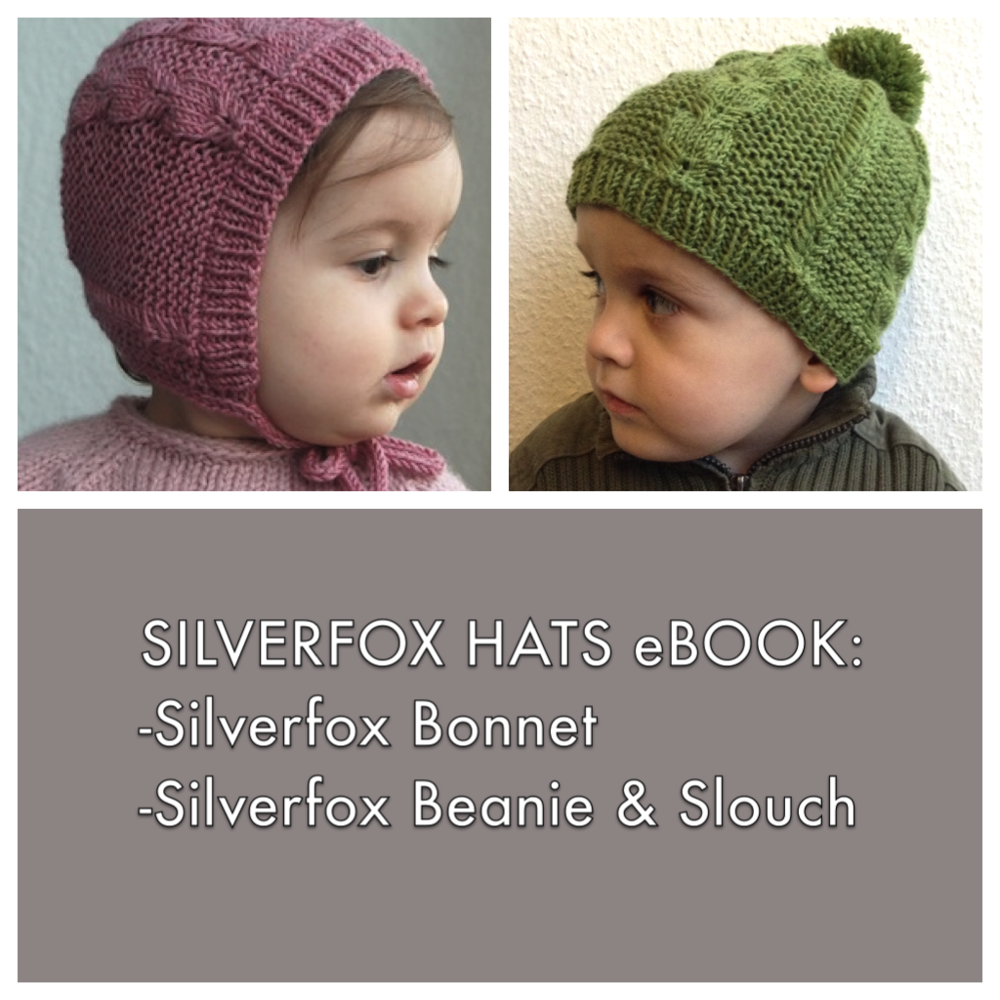 Silverfox Hats knitting patterns eBook - Frogginette Knitting Patterns