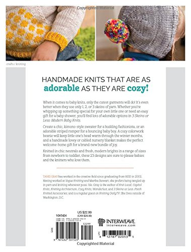 Modern Baby Knits Back cover