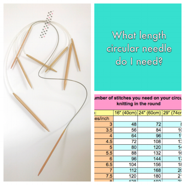 Blog post about circular knitting needle lengths