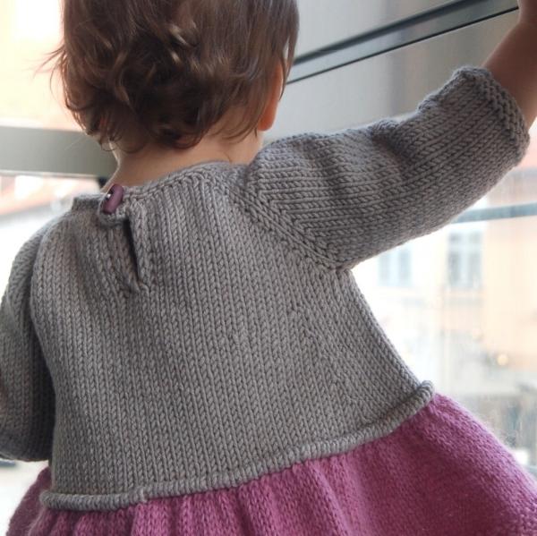 Tutu Top knitting pattern closure hack