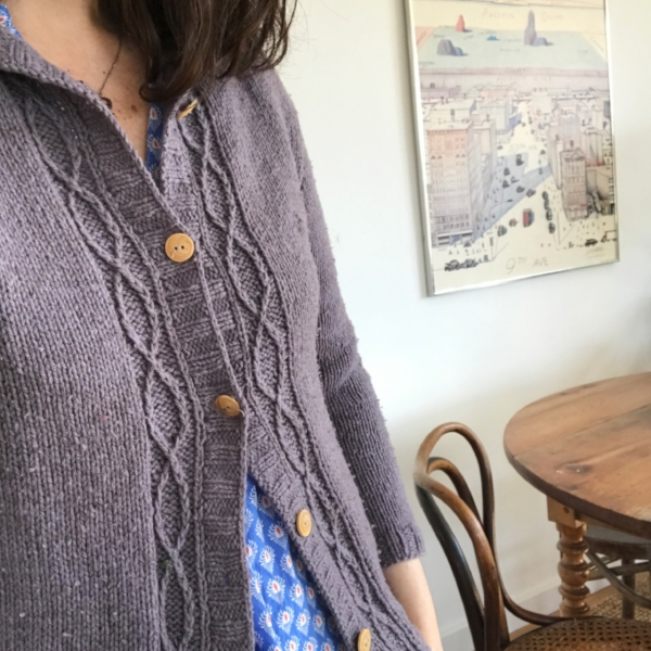 Tatie cardigan -- Pattern by NCL Knits