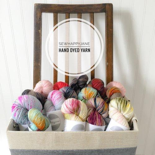 Sewhappyjane Hand Dyed Yarn