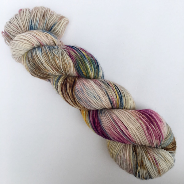 Lavish by Sewhappyjane hand dyed yarn
