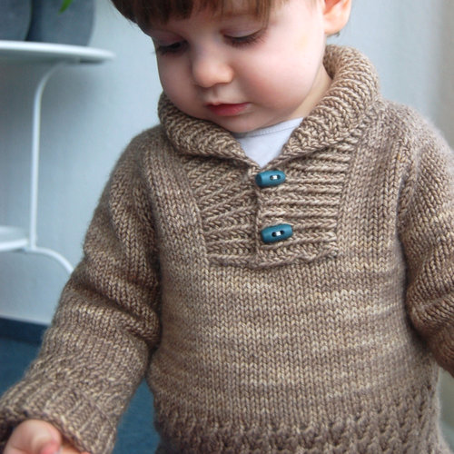 Boy Sweater Frogginette Knitting Patterns