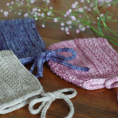 Entrechat Bonnet For Worsted Weight Frogginette Knitting Patterns
