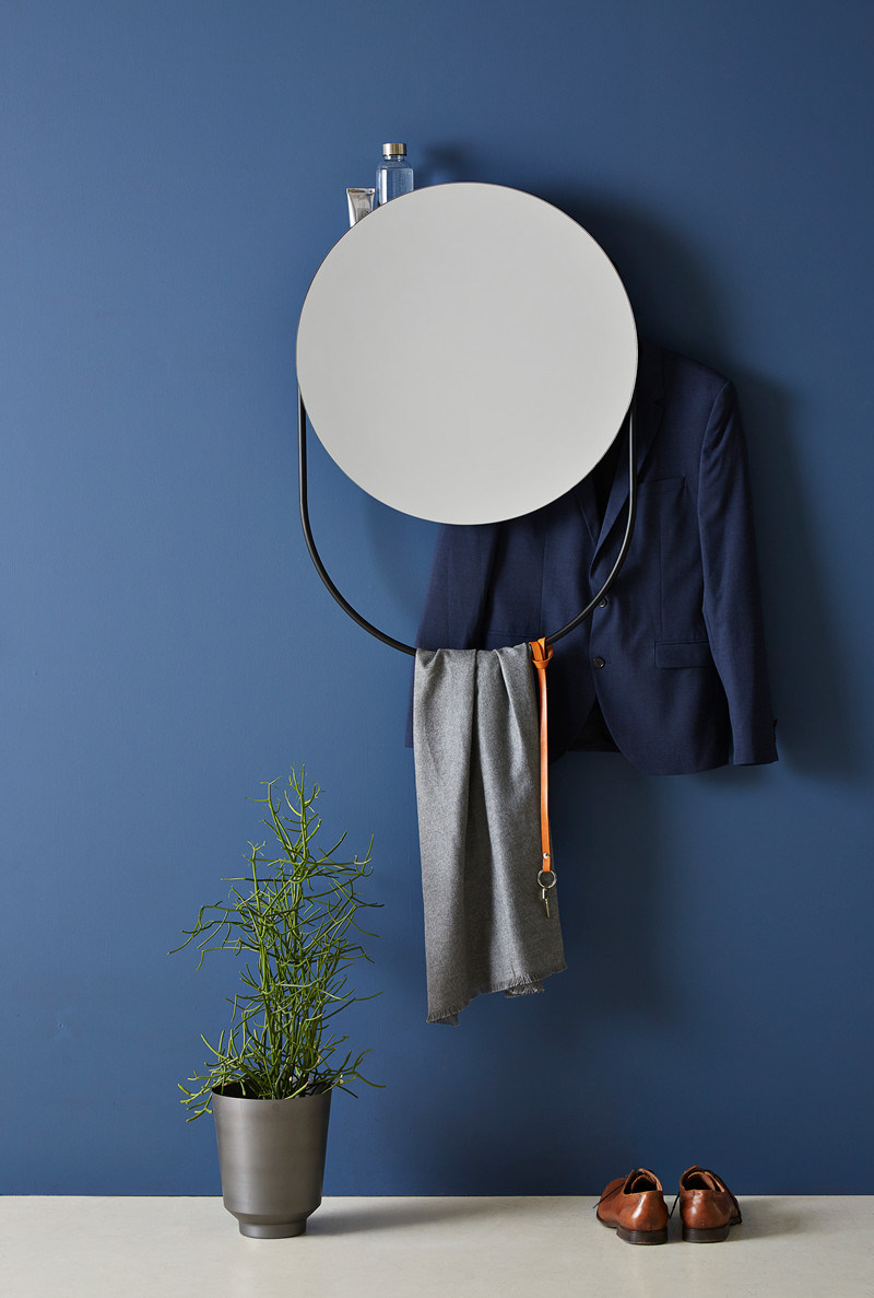 Verde mirror designed by Rikke Frost