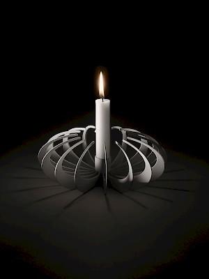 Shadowcandleholder designed byAlexander Lervik