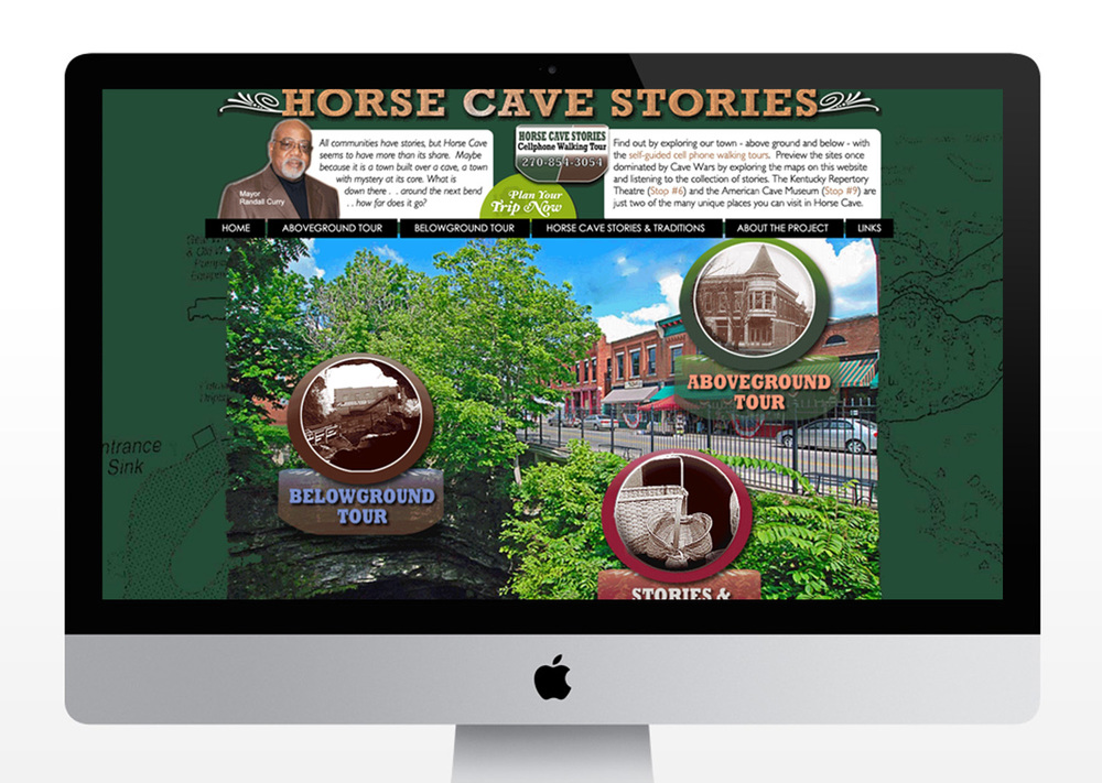 Horse Cave Stories Website