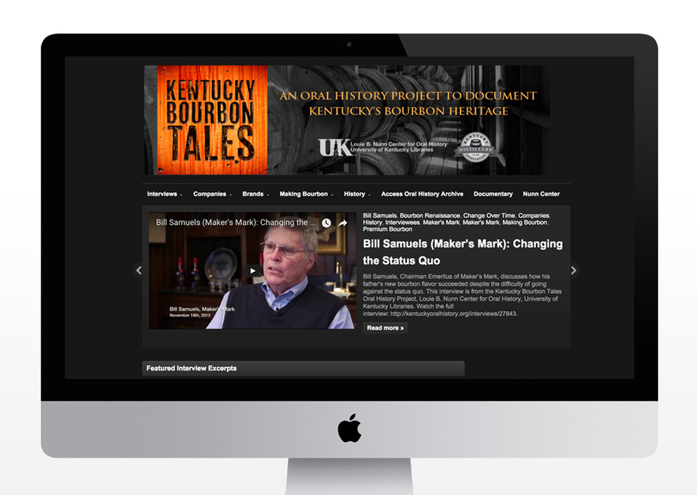 Kentucky Bourbon Tales Website