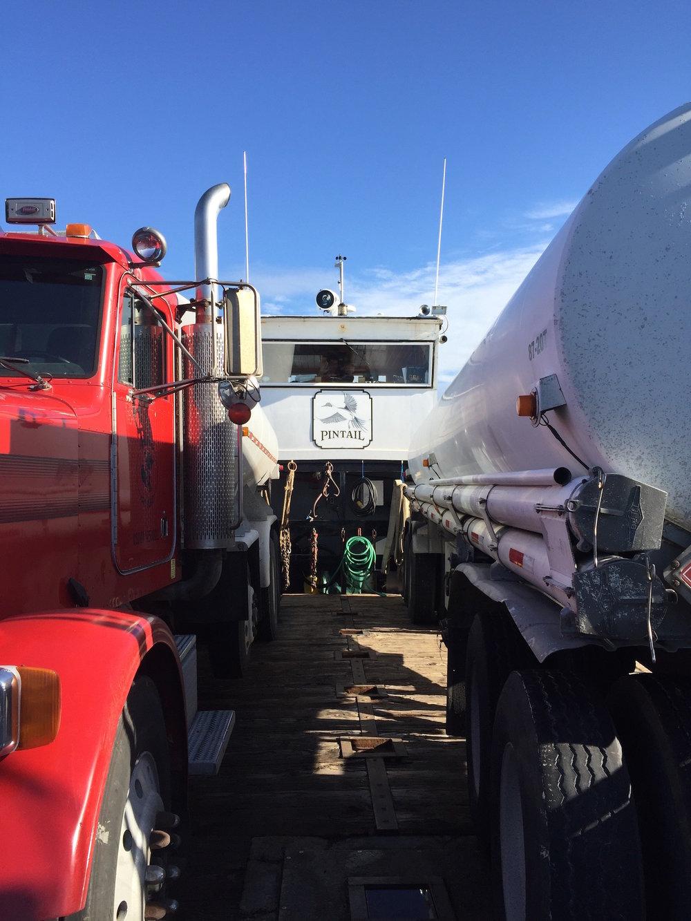 Gasoline propane and deisel hazardous materials—fuel stations on Orcas, Friday Harbor, Lopez—fuel distributor