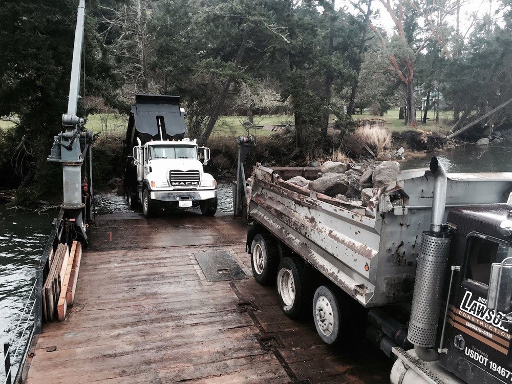 Landscaping materials direct beach access delivery remote access