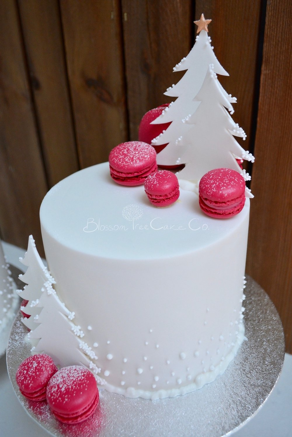 Christmas cakes 2016 by Blossom Tree Cake Company Harrogate North Yorkshire