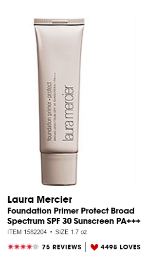 Source - Great Primer with SPF 30 for Normal Skin