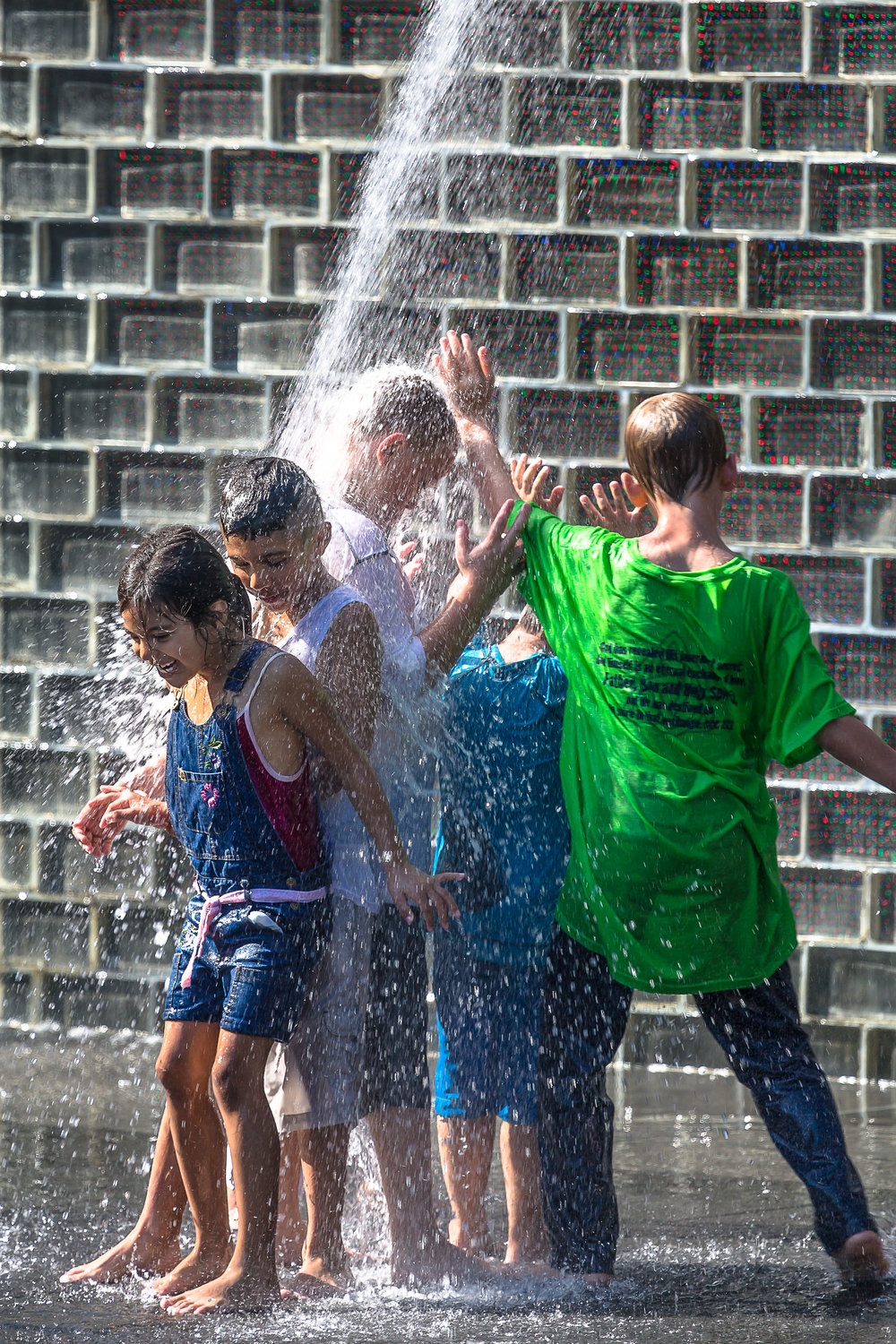 12.  - Give the kids a chance to run and play at Maggie Daley park and then walk over to Millennium Park Crown Fountain to splash it up. It's a great way to cool off on a hot summer day!