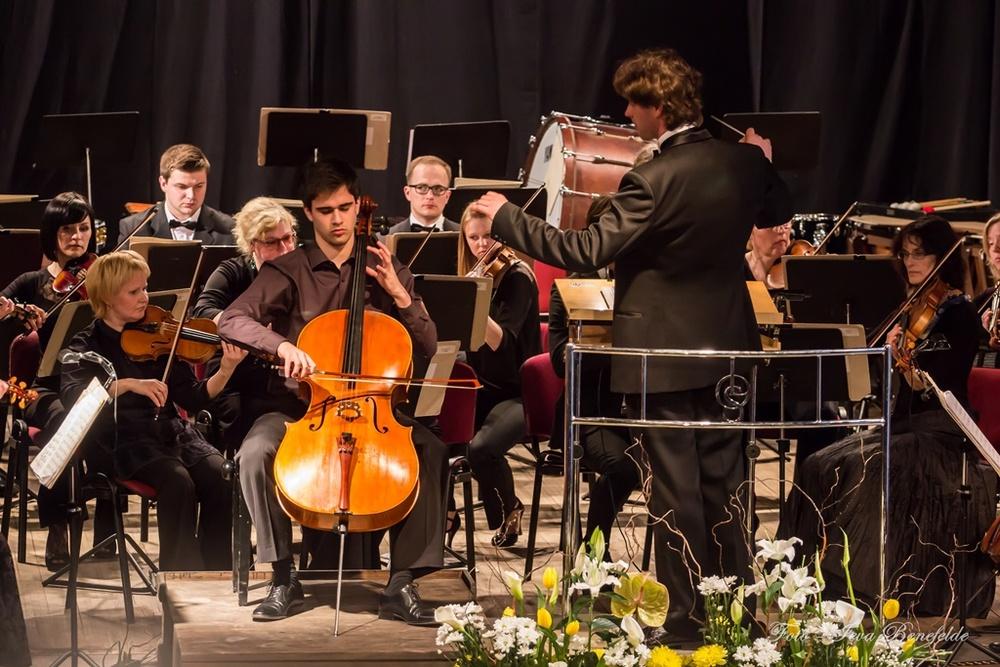 Noslēguma koncerts 2014.g. Foto: Ieva Benefelde