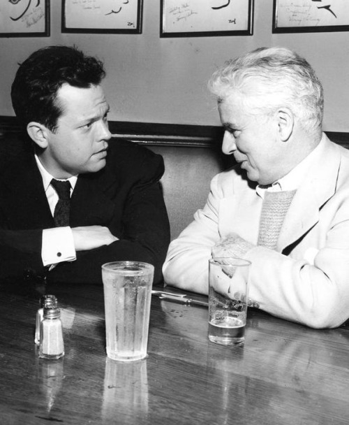 Orson Welles and Charlie Chaplin