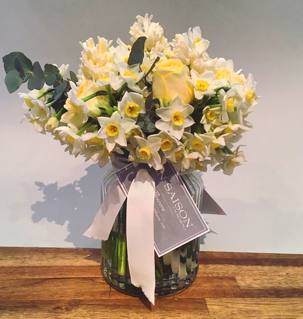 A perfumed arrangement for a few of our En Saison beauties who have celebrated there Birthdays recently.