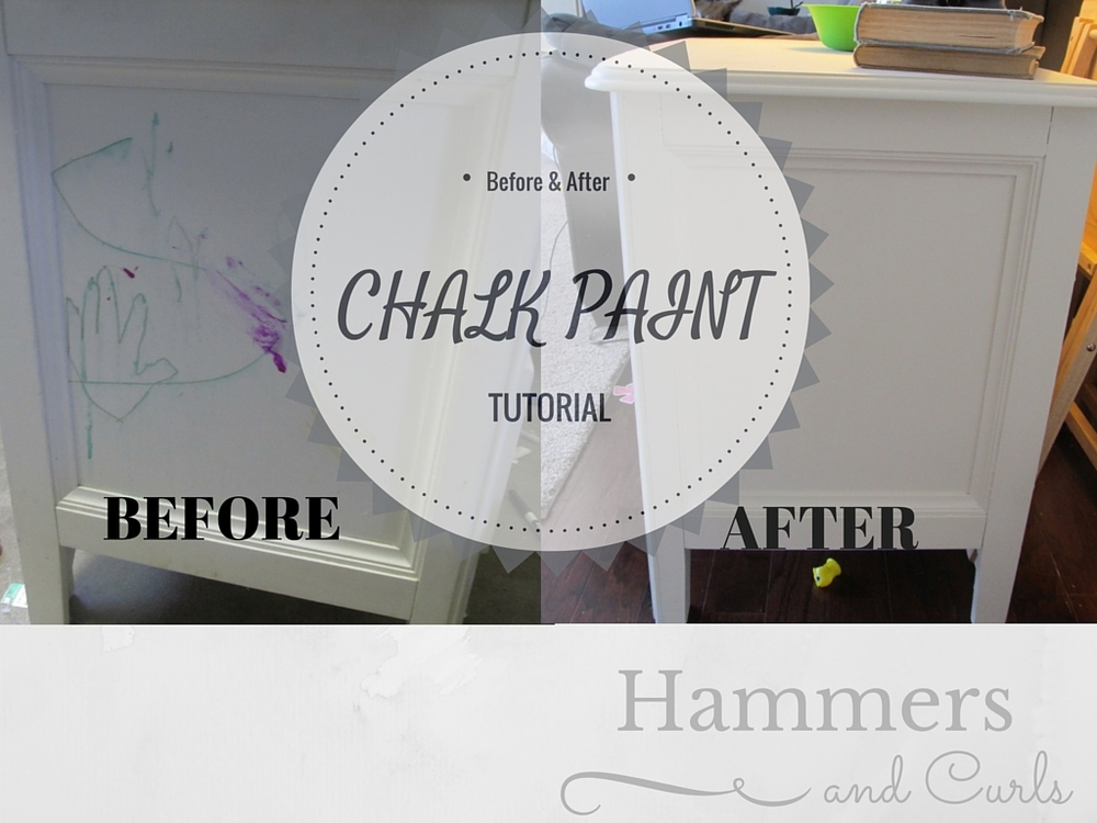 Chalk Paint before and after