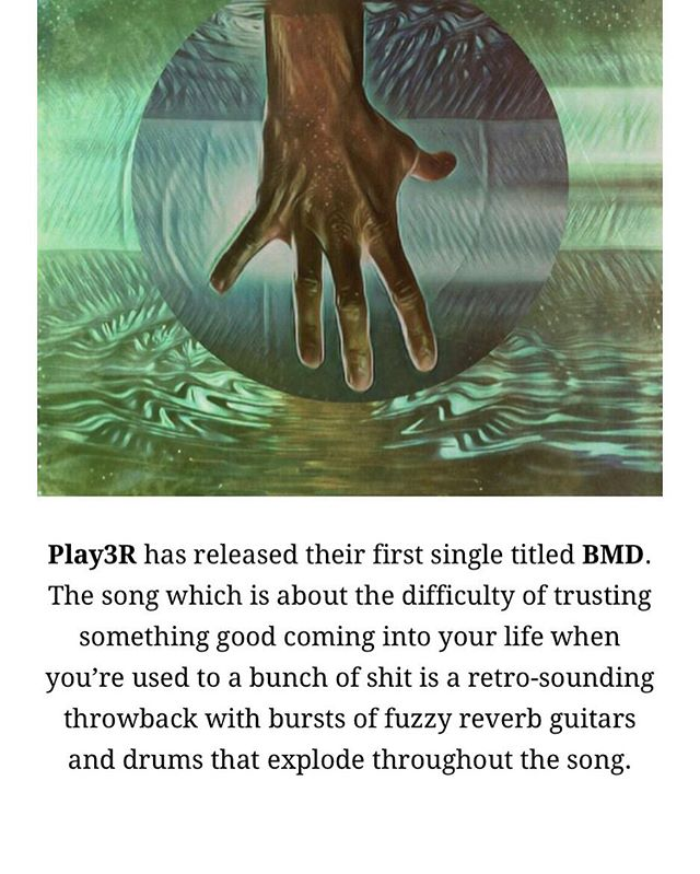 "Thanks to @girlattherockshow for including us in their ""New Year... New Music"" post! Check out ""BMD"" and their awesome site here:  https://thegirlsattherockshow.com/new-year-new-music-featuring-play3r-key-out-picture-this-modern-violence-gold-spectaclesaiden-groves/  #girlsattherockshow #play3rmusic #newmusic #dcmusic #indierock #indiemusic"