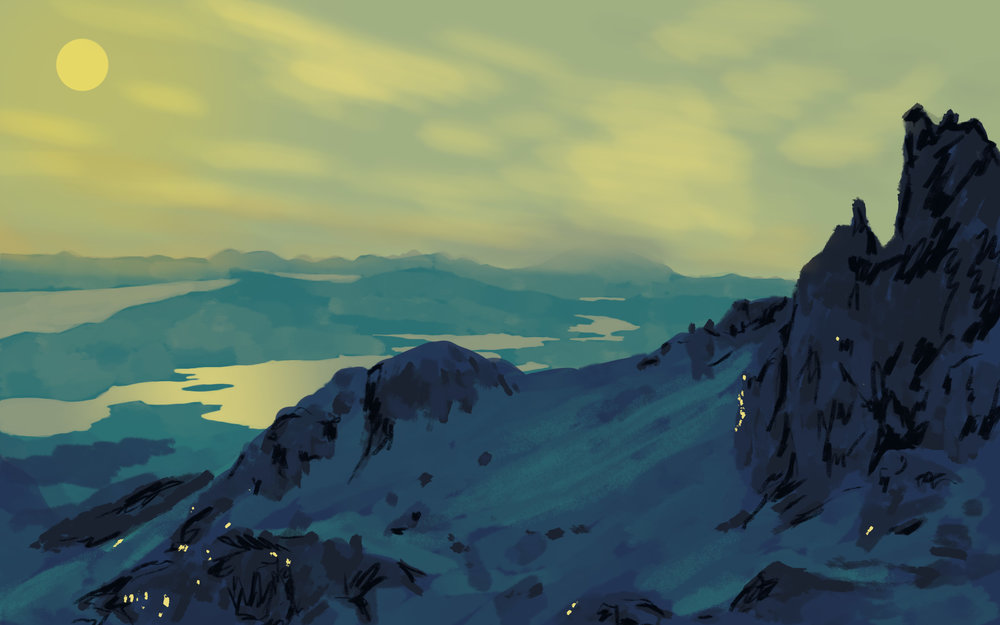 """Range"" Speed Painting, 2016"
