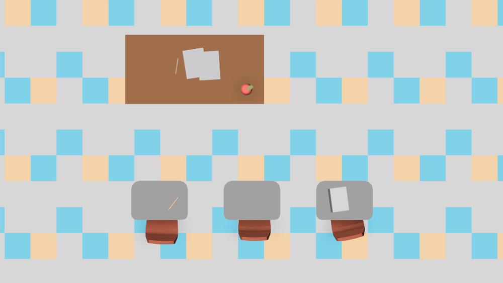 A Place to Sleep  , 2017  You've just come out as trans and your parents have kicked you out. Now you must find a place to sleep and food to eat every day, all while you desperately try to exist. This was a team effort for the 2017 iThrive Games Empathy Jam; Quinn contributed to the writing and created all of the art.