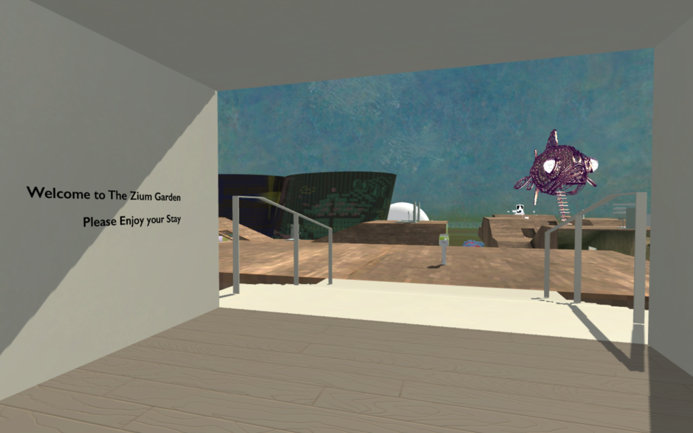 The Zium Garden  , 2018   A  Museum Exploration Game filled with artwork and installations from artists around the world, working in various mediums and styles. Quinn contributed as a co-curator and environment artist.   zium / noun / informal: 1. a virtual gallery game, composed of eclectic and wonderful things.  2. (kind of like a zine, but the museum version)   [ Download it here. ]