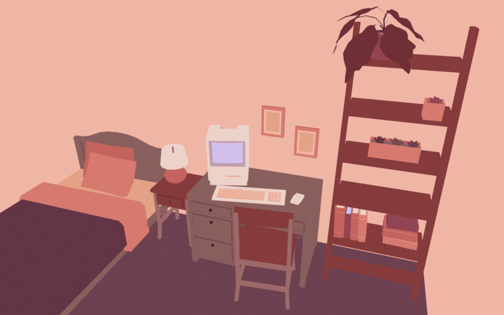 """healing  , 2019   When does a place start being a home? When does it stop?   Created for the Global Game Jam 2019 theme """"what home means to you"""" and inspired by the album [ healing by in love with a ghost .]"""
