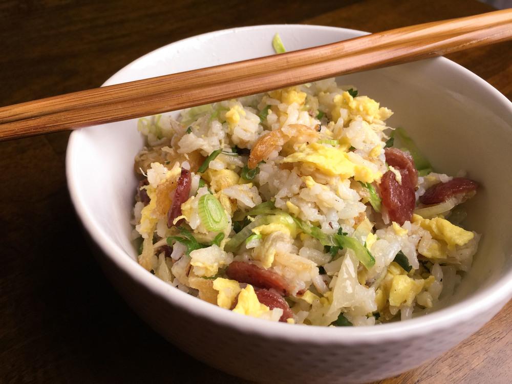 Mission Chinese Food Cookbook's Salt Cod Fried Rice