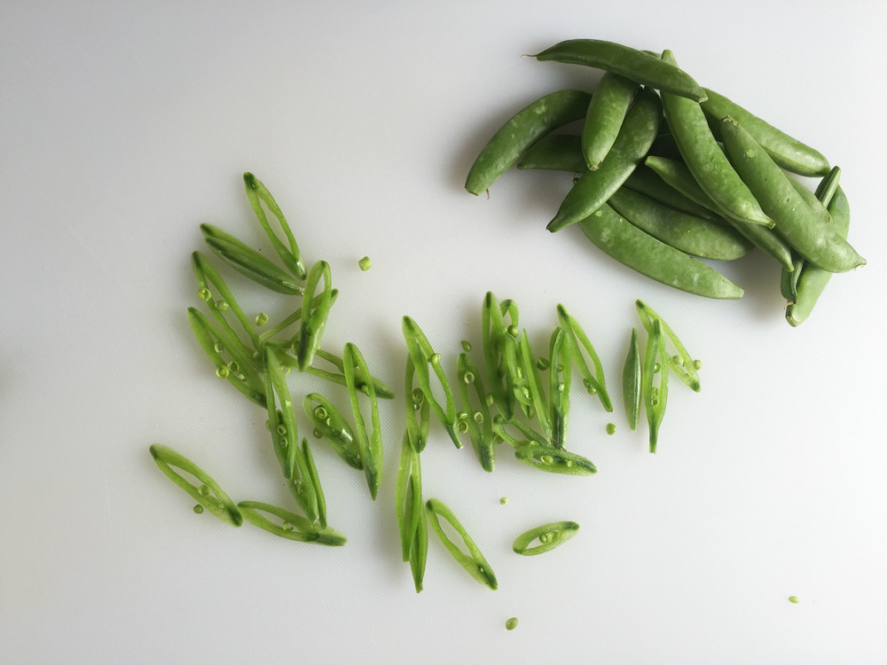 Sugar-snap peas