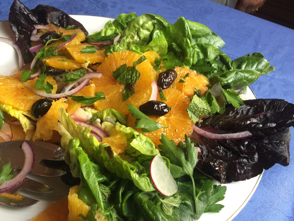 Nicola's Tunisian orange salad