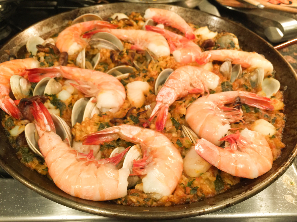 Chiringuito Seafood Paella
