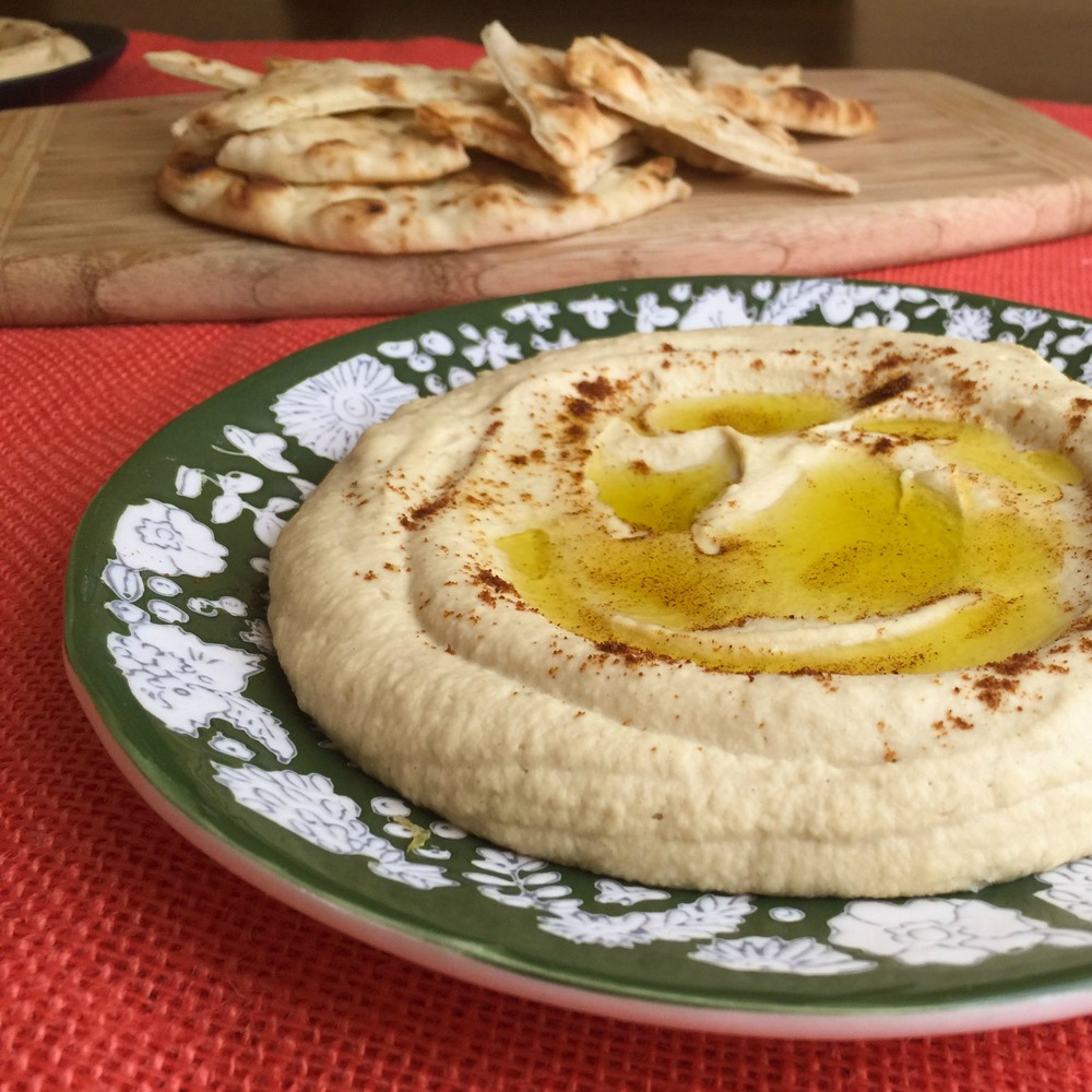 Amazing Cheater Hummus