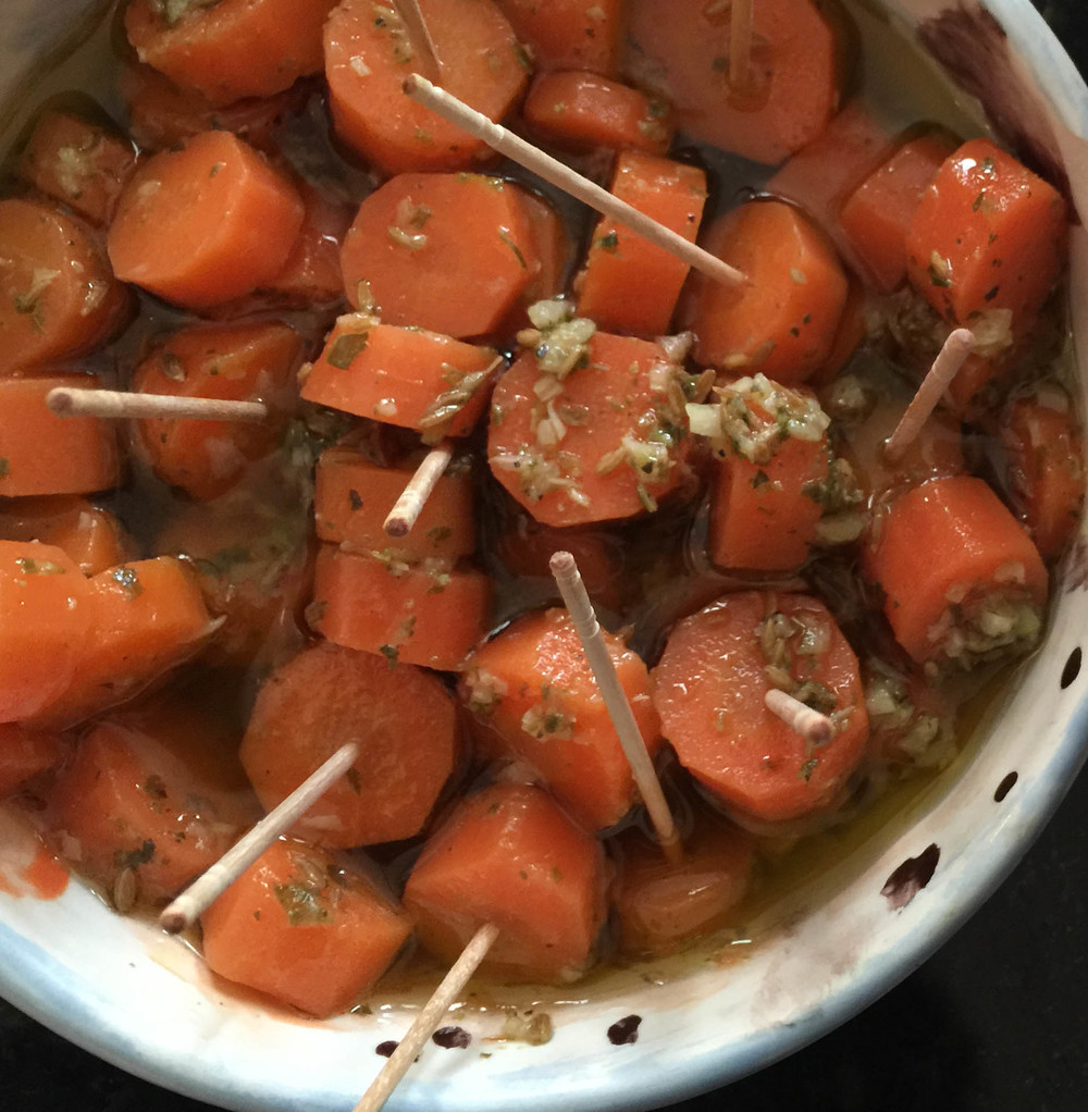 Sevillian Marinated Carrots