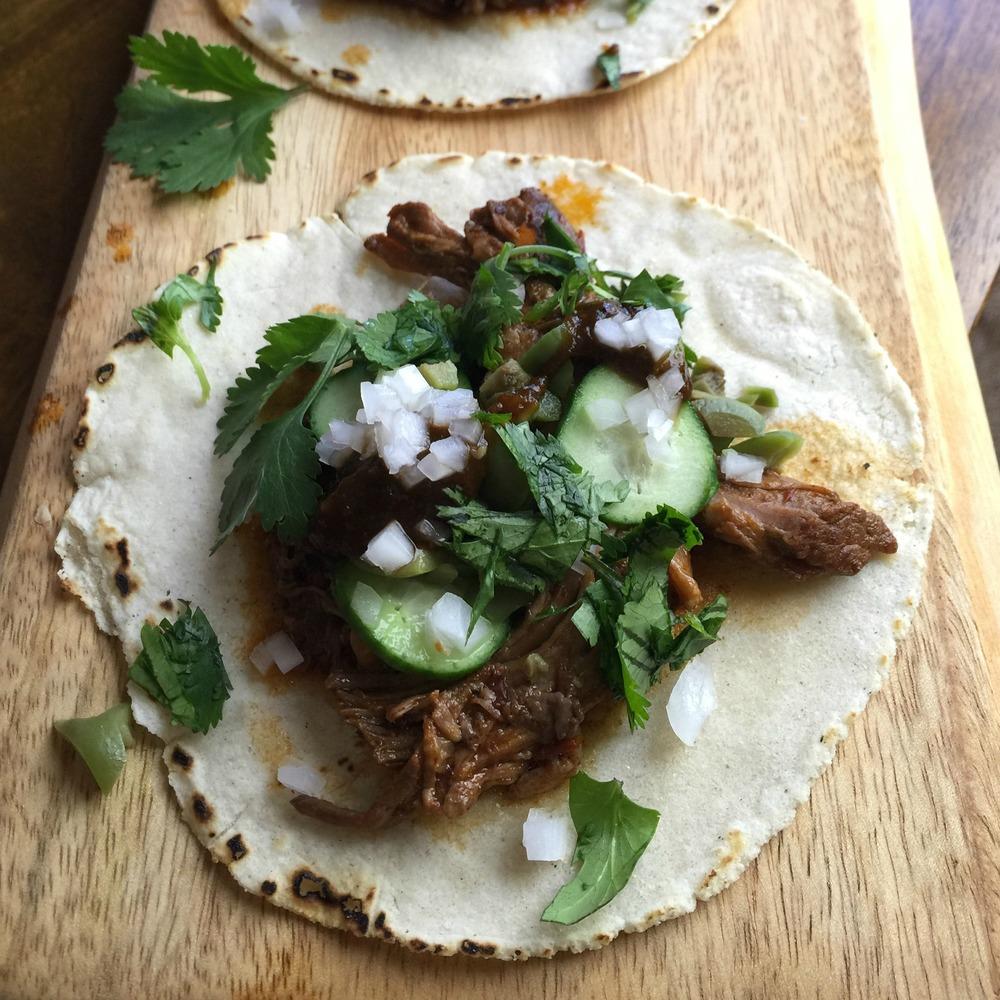 Alex Stupak's Lamb Barbacoa Tacos