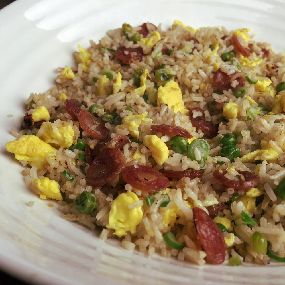 Lucky Peach's Chinese Sausage Fried Rice