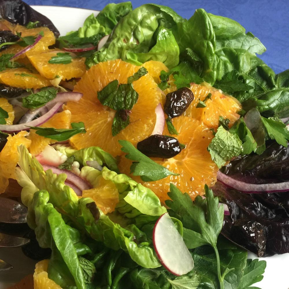 Nicola's Tunisian Orange Salad
