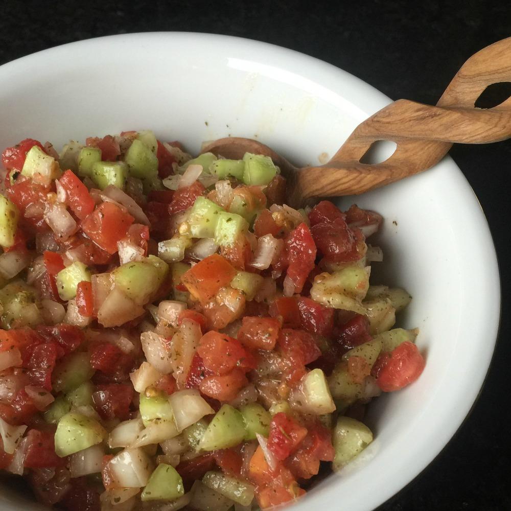 Habib's Tunisian Salad (Vegan)