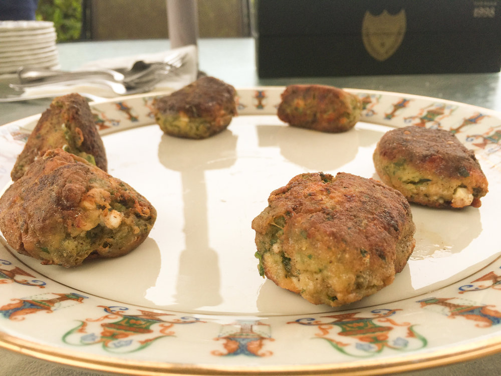 Barry's zucchini fritters
