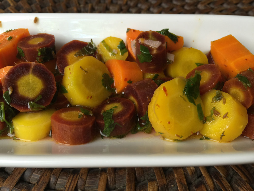 Moroccan Carrots (Vegan)